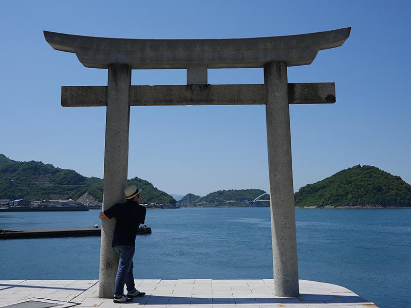 恵美須神社の鳥居